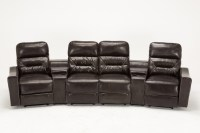 Recliner Sofa With Cup Holders