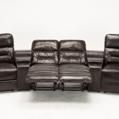 Home Theatre Sofas India Full Size Loveseat Sofa Bed Mcombo Brown Vibrating 4pc Theater Recliner Media
