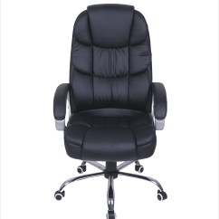 Chair Steel Base With Wheels Folding Abu Dhabi Mcombo High Back Leather Executive Office Desk Computer