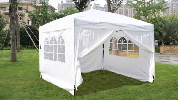 Mcombo 10x10 10x20 Ez Pop Wedding Party Tent Folding Gazebo Canopy With Sides