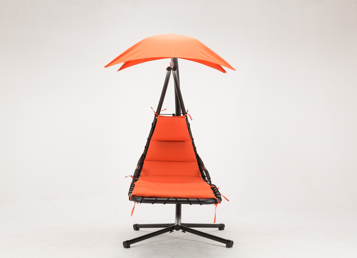 hanging umbrella chair human touch massage replacement parts chaise lounger arc stand air porch swing