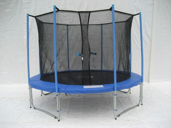 Exacme 10 Ft Trampoline Safety Pad Enclosure Net In Combo C10
