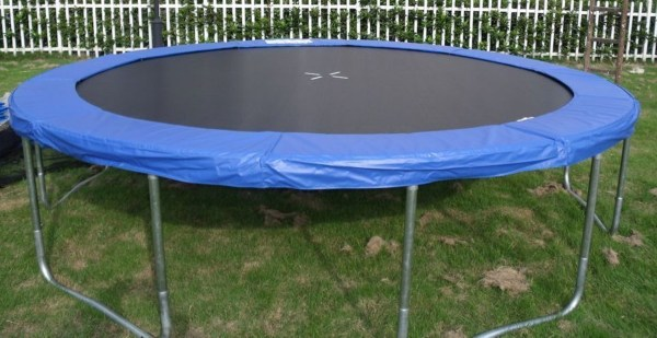Exacme 14' Ft Trampoline Safety Pad Enclosure Net In Combo