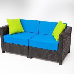 Black Aluminum Outdoor Sofa Friends Pose 7pc Luxury Wicker Patio Sectional Indoor