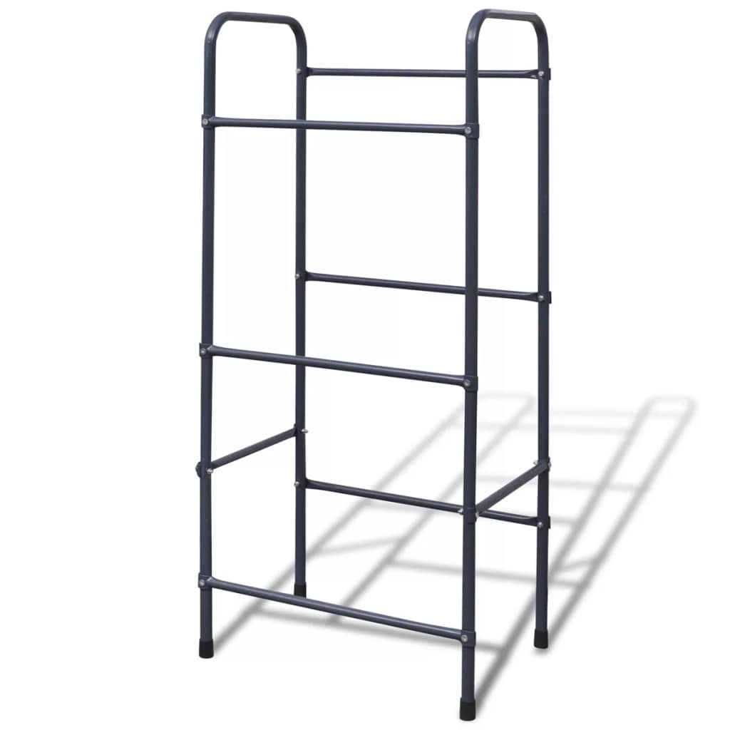 Steel Shelf Inclined Wire Tier Shelving Storage Rack F 3