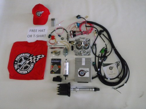small resolution of complete tbi conversion kit for stock big block chevy 454 7 4l 1029 99
