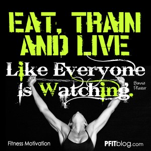 Eat, Train & Live
