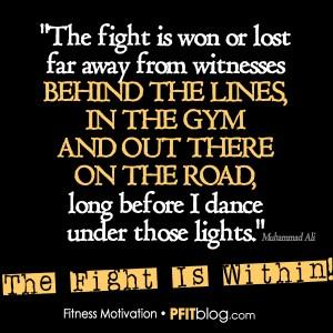 WInning the Fight