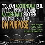 SUCCEED ON PURPOSE