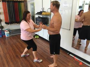 Tasha & Steve on Fit To Fat To Fit