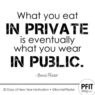 What you eat in public