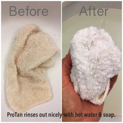 Cleaning ProTan