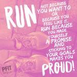 Run because