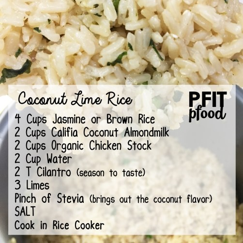 Coconut Lime Rice Recipe