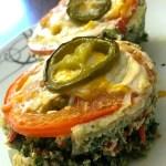 Spinach & Roasted Red Pepper MIni Quiche