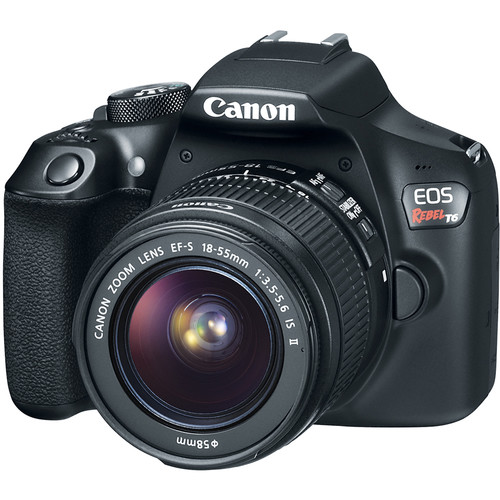 41476a82 2032 4c91 8e3b 4cd4c4245362 - Canon EOS Rebel T6 SLR Camera 18-55mm + 32GB + Dummies Book - Bundle