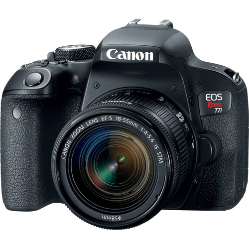 d2b68133 f3bd 432a 8e74 905f70c75723 - Canon EOS Rebel T7i 24.2MP DSLR Camera with 18-55mm Lens Video Creator Kit