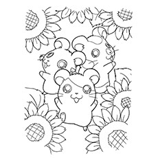 ᐅ 15 wunderschöne Sonnenblumen Malvorlagen für Ihr kleines