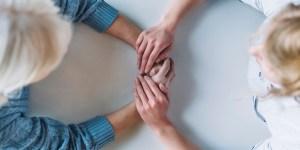 Pflege in der Familien Angehörige