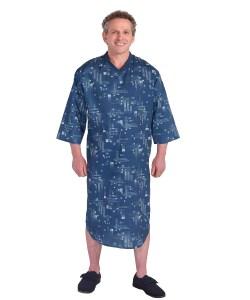 *JuliusT* Pflege-Nachthemd