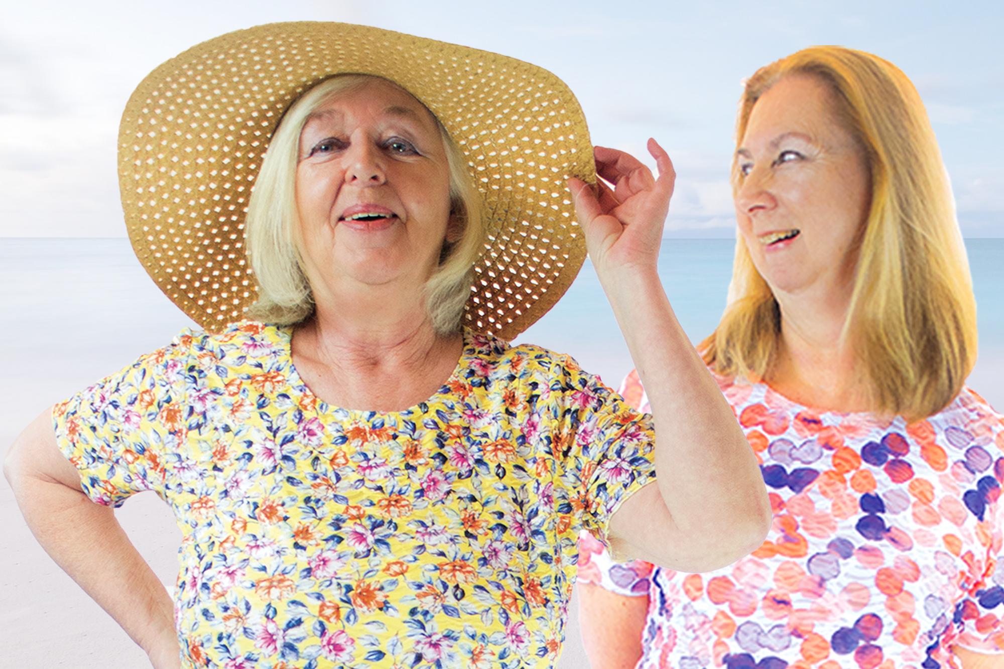 Exklusive Mode für Seniorinnen   Pflegemode