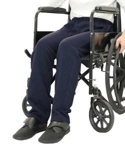 *CarlaT* Sweat Fleece Rollstuhl-Pflegehose