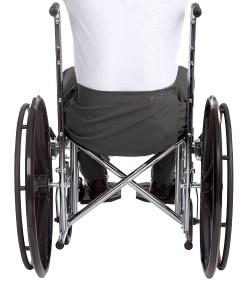 *HeinzT* Gabardine Rollstuhl-Pflegehose