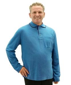 *LarsT* Pflege Polo-Shirt