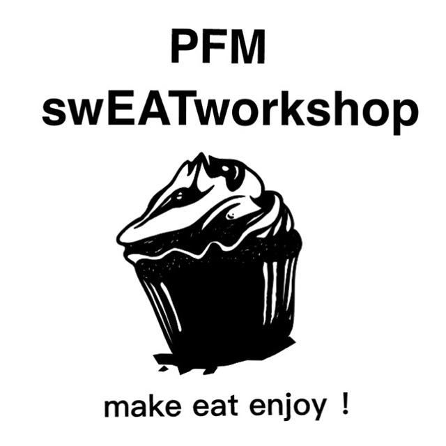 pfm cake and sweets and coffee