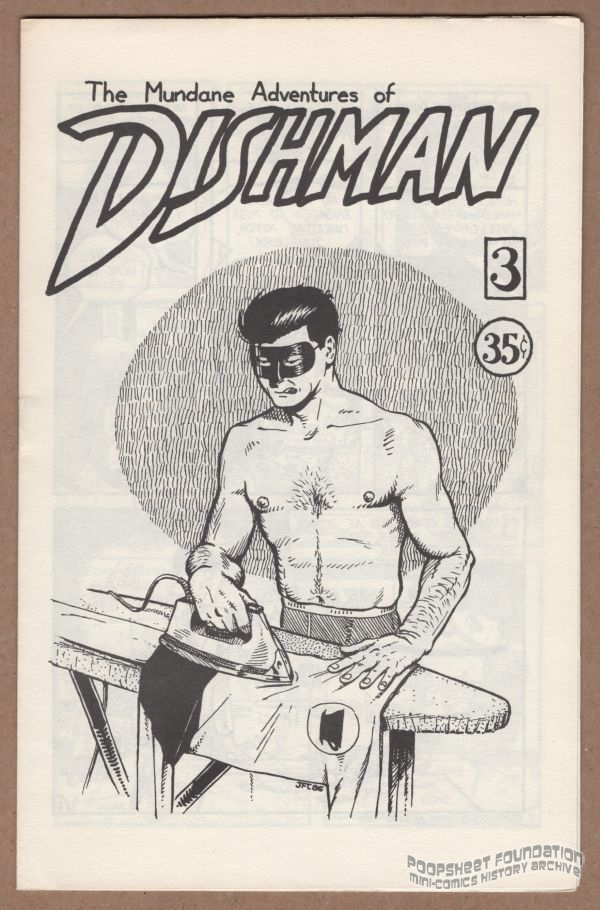 Dishman irons his costume on the cover of issue #3.