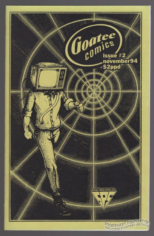 Goatee Comics #2 cover art.