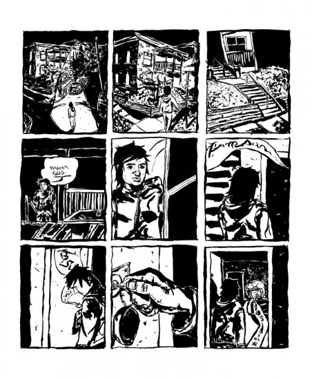 Sample page from Good Minnesotan #3.
