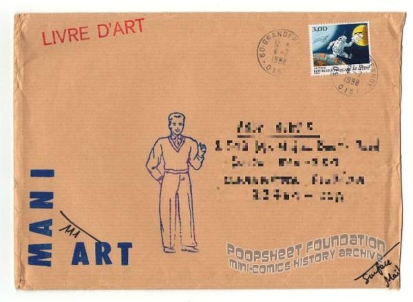 Mani Art #111 mailing envelope