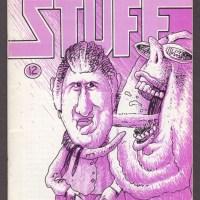 STUFF #12 underground comix WILLIS Hutchinson MARTIN Hoover minicomix 1988