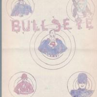 BULLSEYE #1 early comic fanzine GLEN JOHNSON Raymond Miller STEVE PERRIN zine 1962