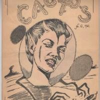 CACTUS #6 Swedish sf fanzine STURE SEDOLIN Bo Stenfors RAY NELSON Roar 1961