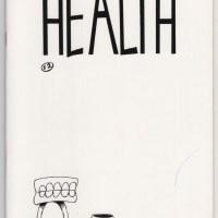 HEALTH #3 mini-comic DAVID TOMPKINS Jeff Tompkins small press minicomix 1991