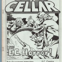 COMIC CELLAR #1 Canadian fanzine EC COMICS George Freeman JC ST. AUBIN zine 1980