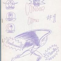 CONDOR COMICS #1 fanzine STRIPZINE Chuck Rogers JIM TOREN Don Schank zine 1964