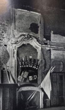 Kunstdenkmäler 1939, Pförten, Schloss, Großer Festsaal, Zustand 1939