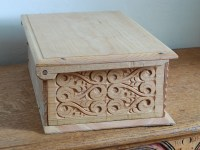Wooden Box Hinged Lid Plans PDF Woodworking