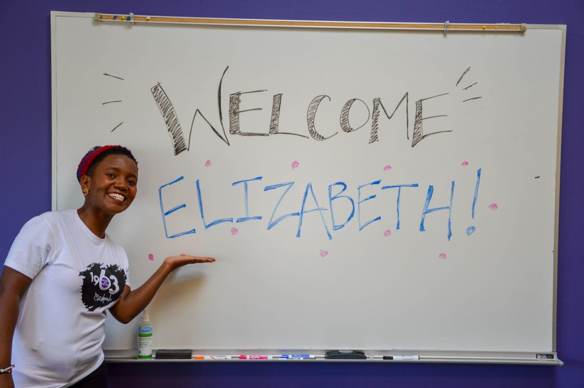 Welcome Elizabeth Photo!