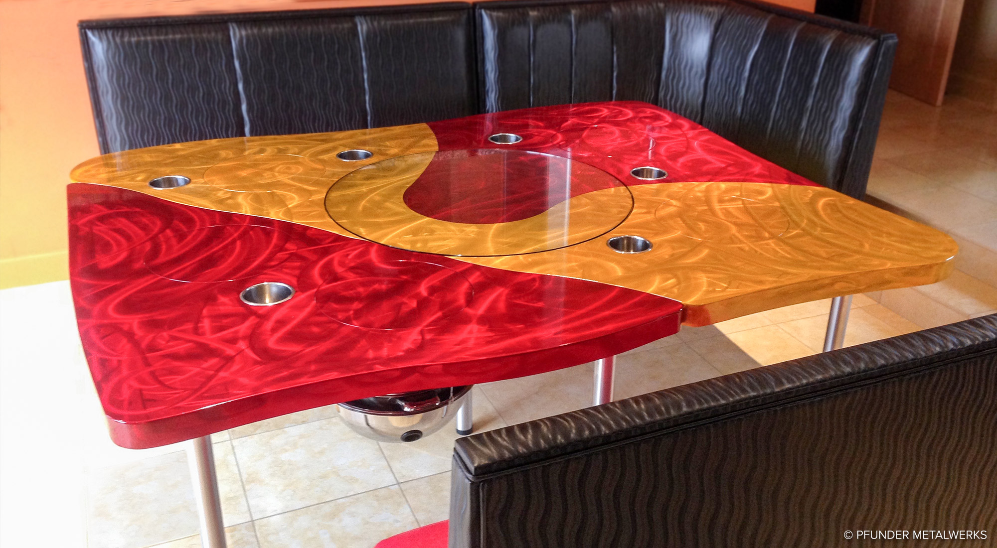 Hot Pot Dining Table
