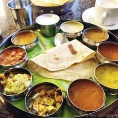 Thali Plate from Ariya Nivaas