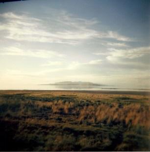 Antelope Island, Utah. 2012. Holga 120mm.