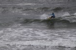 A Local Surfer from the Kovalam Surf Club