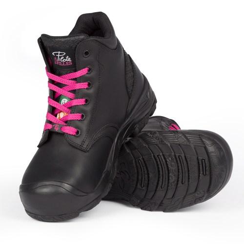 c1b75959fca2 Steel toe waterproof work boots for women