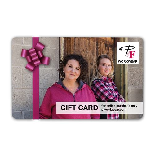P&F Workwear Virtual Gift Card V4
