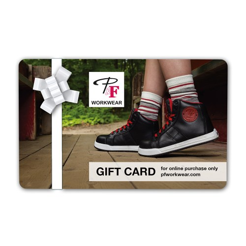 P&F Workwear Virtual Gift Card V5