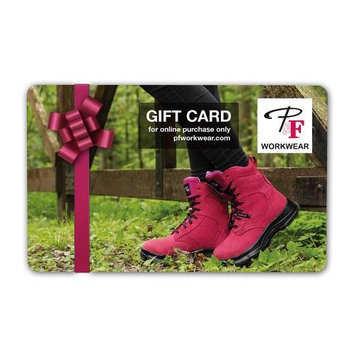 P&F Workwear Virtual Gift Card V6